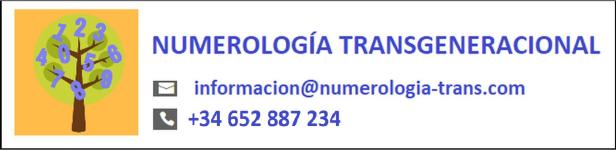 Logotipo de Numerología Transgeneracional